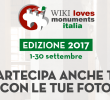 """""""WIKI LOVES MONUMENTS"""": FOTOGRAFI PROFESSIONISTI E NON, A RACCOLTA!"""