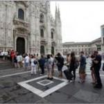 CRESCONO DI NUMERO I TURISTI A MILANO