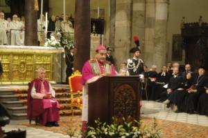 Il discorso dell'Arcivescovo Mons. Mario Delpini