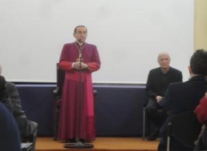 Il saluto dell'Arcivescovo mons. M. Delpini