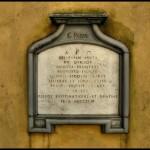GIUSEPPE PARINI: IL MISTERO DELLA SUA TOMBA
