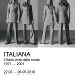 """""""ITALIANA"""": A PALAZZO REALE 30 ANNI DI STORIA DEL MADE IN ITALY"""