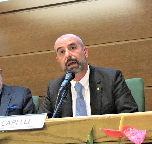 Il presidente ACM Ivan Capelli