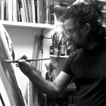 Un ponte dai fumetti all'arte: Daniele Afferni