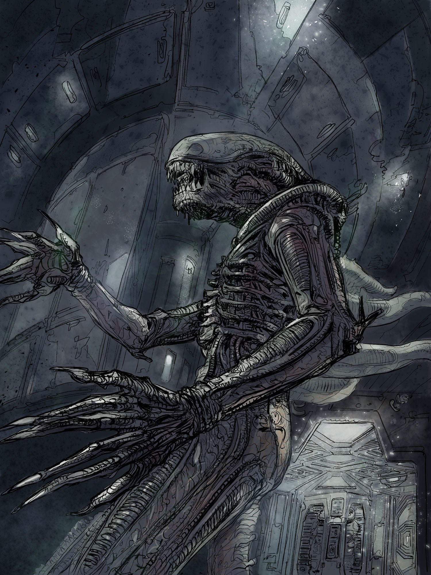 daniele-afferni-daniele-afferni-artist-alien-nostromo