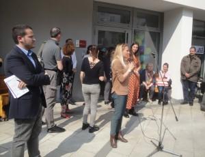 Intervento dell'assessora Municipio 8 G. Pelucchi