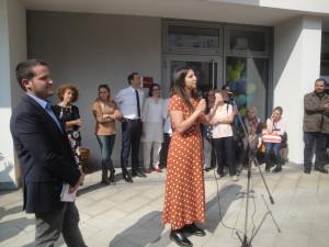 Intervento del presidente commissione Servizi sociali Gaia Romani