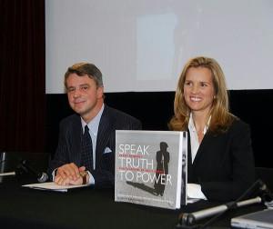 Alberto Mattioli e Kerry Kennedy