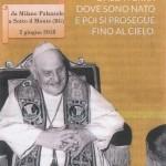 San Giovanni XXIII è ritornato a Sotto il Monte
