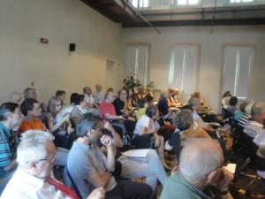 Il pubblico partecipante al convegno