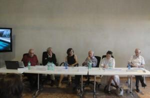 07 Gli oratori A. Boatti, M. Prusicki, M. Oglialoro, A. Iosa , O. Scarpa, A. Cornaggia