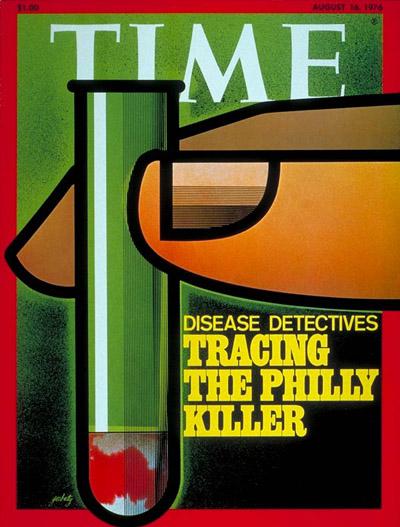 La copertina del Time dopo la scoperta del batterio killer