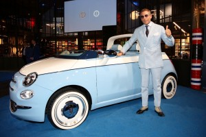 Lapo Elkann presenta la sua nuova creatura automobilistica