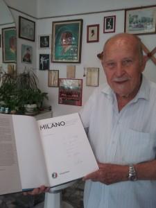 Il libro Milano regalato dal Sindaco Giuseppe Sala