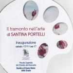 """Mostra pittorica di Santina Portelli """"Il tramonto nell'arte"""""""