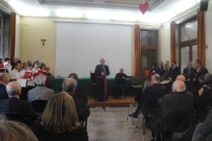 Monsignor Delpini incontra gli operatori socio sanitari