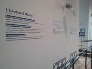Pannello l'Acqua di Milano