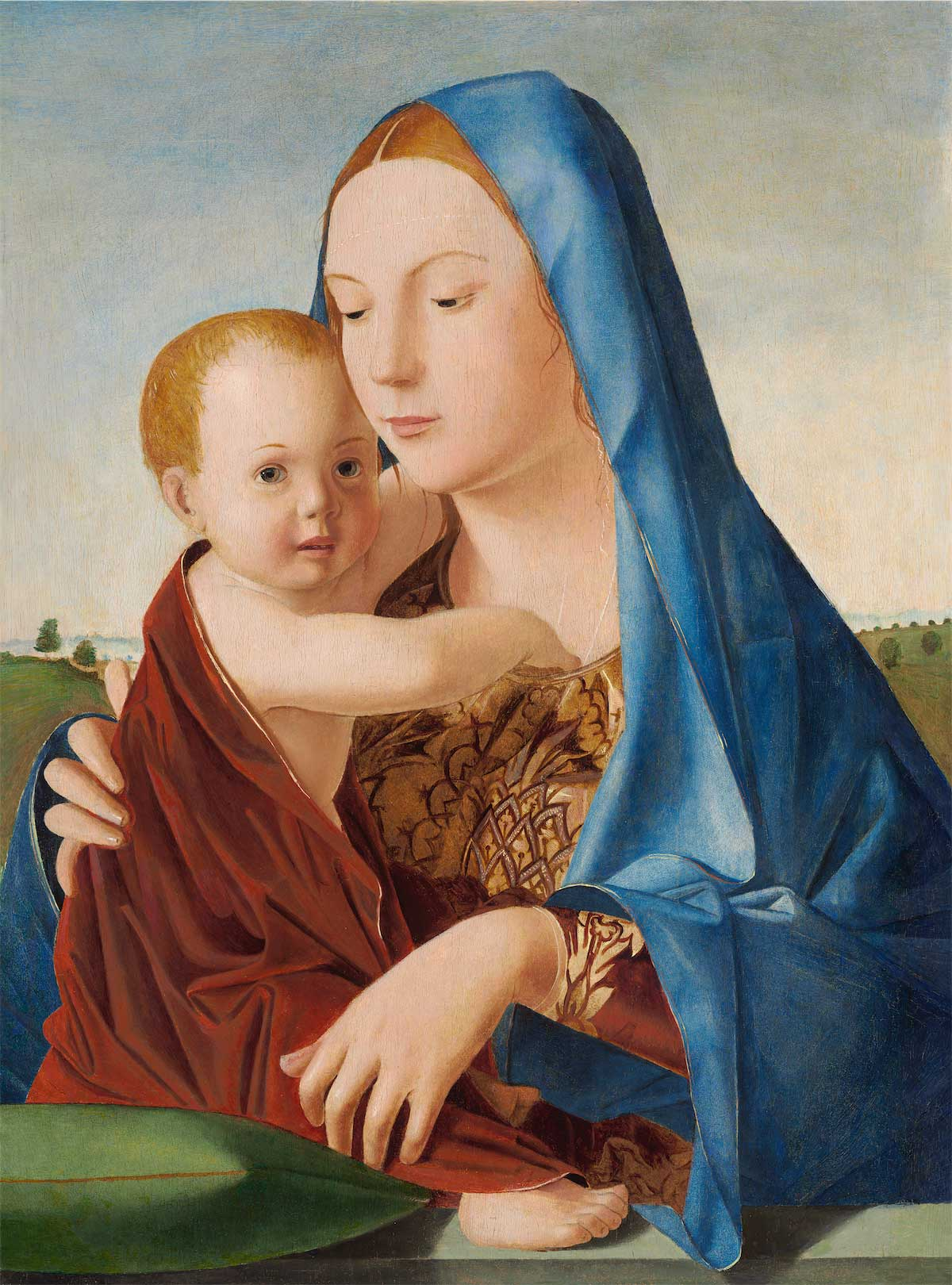 Antonello da Messina_Madonna Benson-Washington-National-Gallery-of-Art