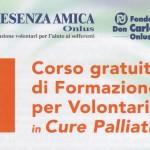 Corso di Formazione per Volontari in Cure Palliative