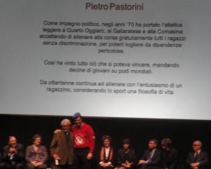 Premiazione di Pietro Pastorini