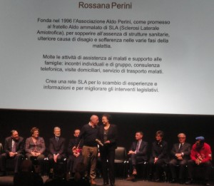 Premiazione di Rossana Perini