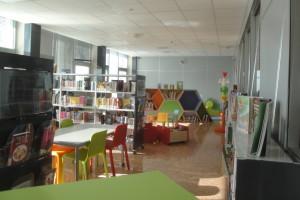 La sala lettura per i  bambini
