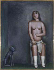 8. Carlo Carrà, La casa dell'amore, 1922, Pinacoteca di Brera, Milano
