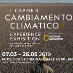 """""""EXPERIENCE EXHIBITION"""": IL CAMBIAMENTO CLIMATICO IN MOSTRA"""