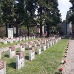 Cerimonia commemorativa al Campo della Gloria