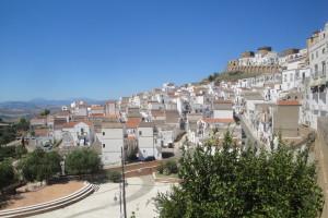Pisticci, panoramica del Rione Dirupo