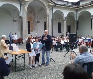G. P. Scevola presenta alcune vincitrici del concorso