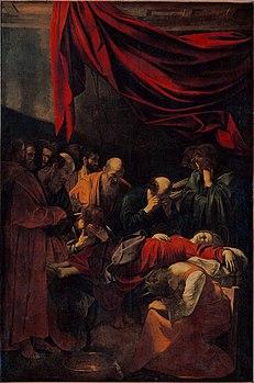 231px-Caravaggio_-_La_Morte_della_Vergine