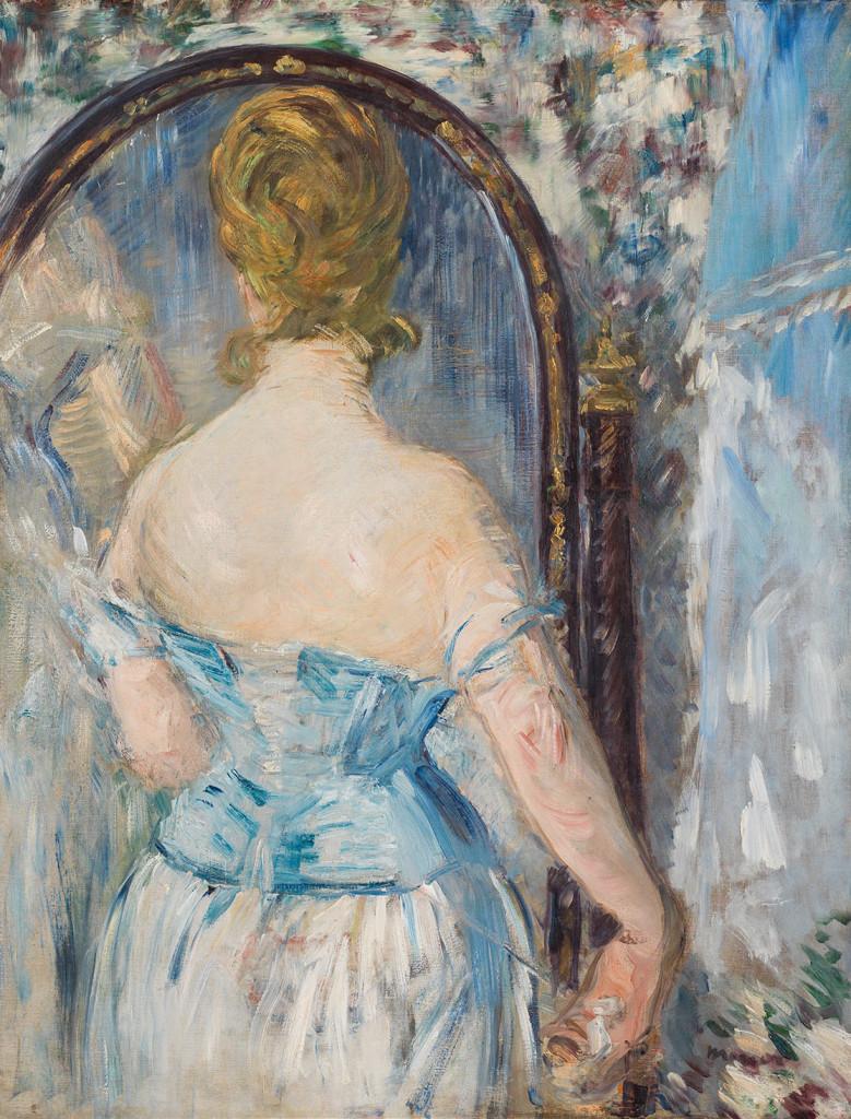 5. Manet Davanti allo specchio
