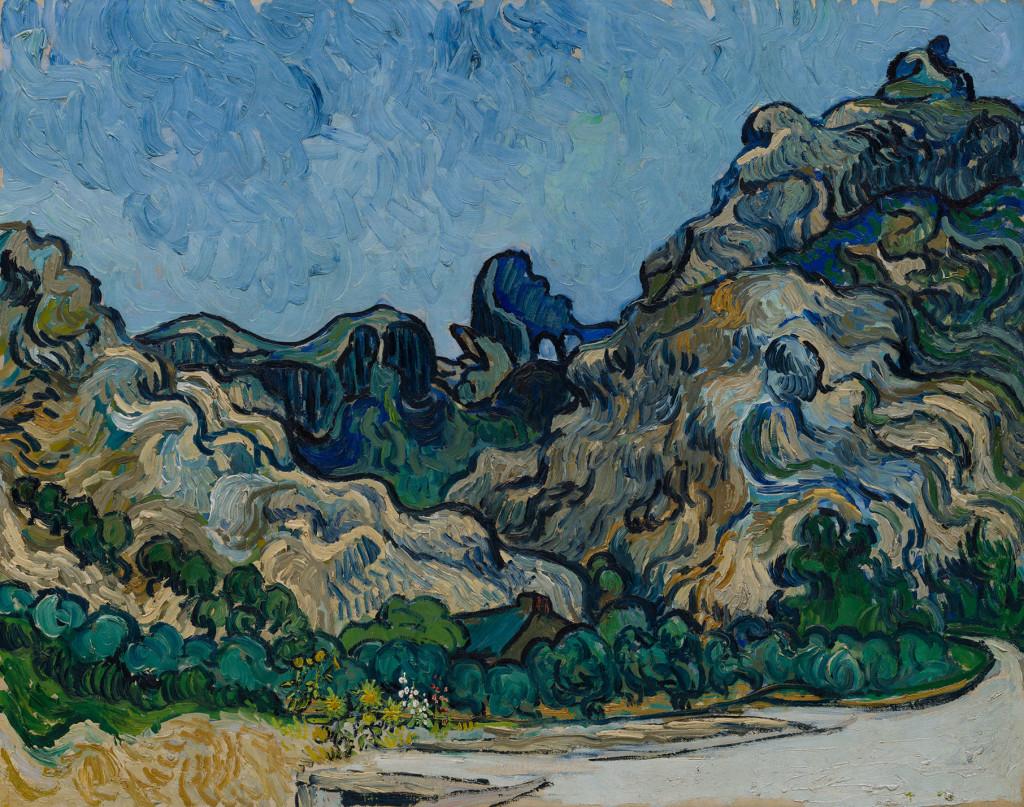 9. Van Gogh Montagne a Saint-Remy