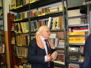 A.Iosa presso la biblioteca della Fondazione C.Perini - anno 2014