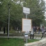 Cerimonia di inaugurazione del Giardino dei Giusti