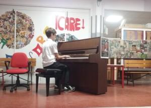 Francesco G. Vailati suona l'inno nazionale del Sudafrica