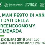 Il Manifesto di Assisi e i dati della Green Economy Lombarda
