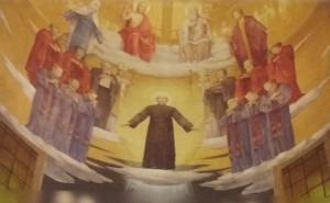 Immagine nella volta della Cappellania di don L. Palazzolo