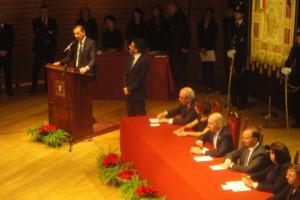 L'intervento del sindaco G. Sala