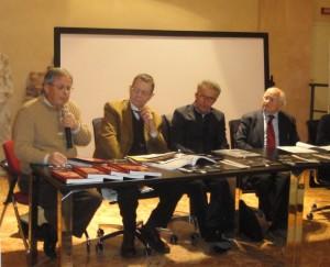 04 Mostra Stragismo, F. Zinni, G. Salvini, C. Arnoldi, A. Iosa, dic. 2011.