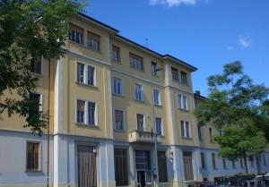 Ex sede del Palazzolo di via Aldini , oggi.