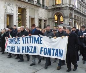 I familiari delle Vittime della strage di piazza Fontana
