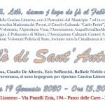 Falò di Sant'Antonio in Cascina Linterno