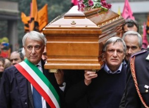 I funerali di Lea Garofalo