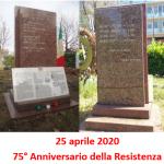 75° Anniversario della Resistenza durante il COVID – 19