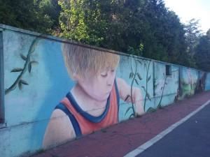 Il murale di via Lessona
