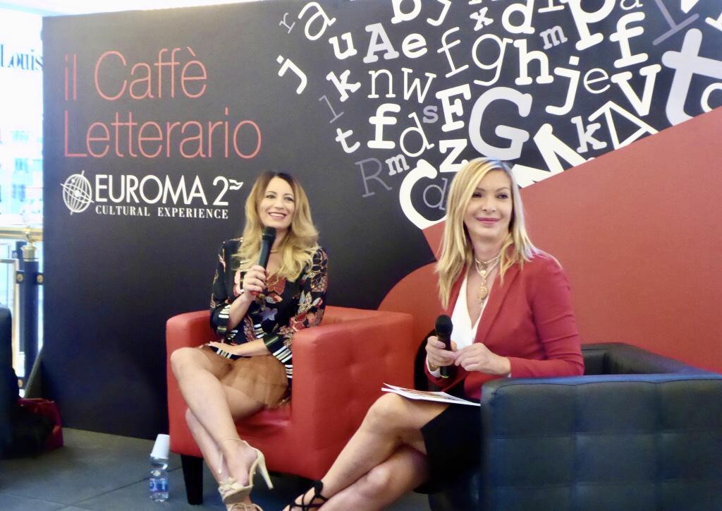 Non solo Selfie Caffè letterario Euroma 2 Elenia Scarsella Antonietta Di Vizia