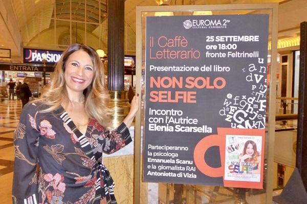 Non solo Selfie Caffè letterario Euroma 2 Elenia Scarsella Totem