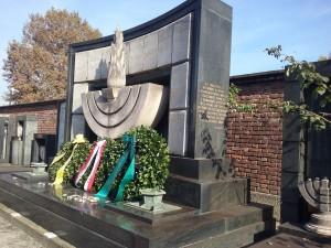 Monumento dedicato agli ebrei perseguitati